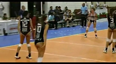 Sports, Challenge, Volleyball, T girl, Jerking off