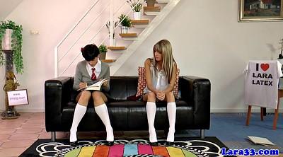 Spank, Lesbian spanking